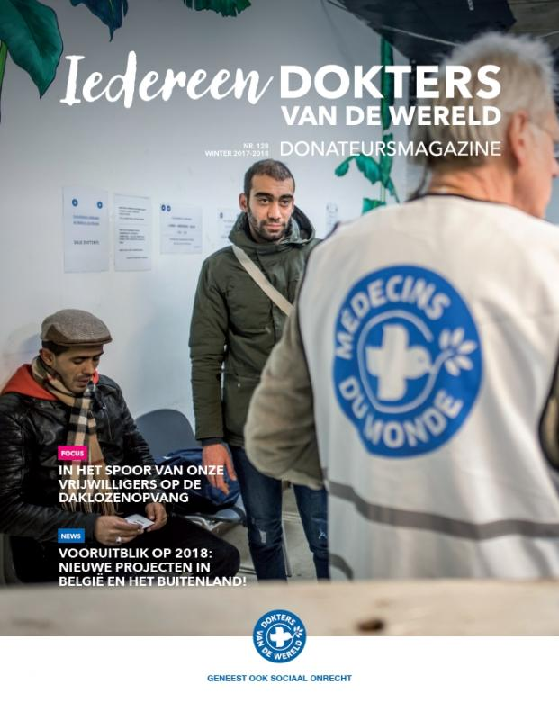Donateursmagazine 128 - Winter 2017/2018